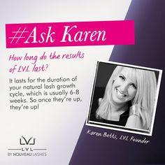 #AskKaren #Length #Volume #Lift  How long do the results of LVL last?