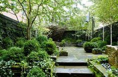 26 Beautiful Townhouse Courtyard Garden Designs