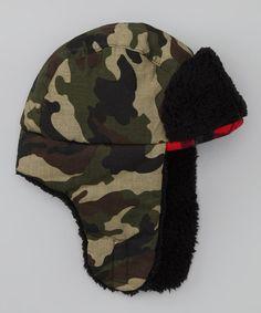 Look at this #zulilyfind! Camo Trapper Hat by International Harvester #zulilyfinds
