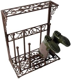 Wellington Boot Stand - Wrought Iron