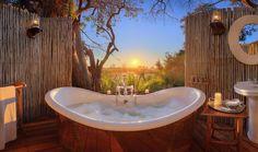 Eagle Island Lodge in Botswana.