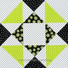 Half-Square and Quarter-Square Triangle Block   December Block of the Month   2015 Adventure Quilt by Nancy Zieman