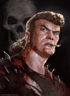 realistic Brock Samson from Venture Bros