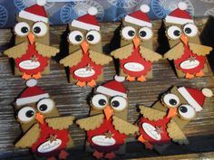 Kreativ am Deich : Weihnachts-Eulen... mit dem Envelope Punch Board...mit kleiner Anleitung