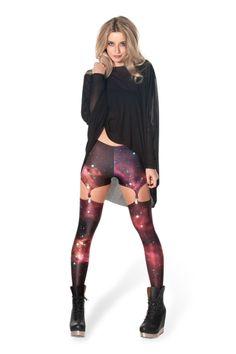 Galaxy Pink Suspenders › Black Milk Clothing