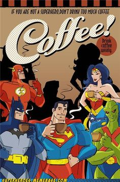 Batman AND Coffee? Super powers come from coffee! Coffee Talk, Coffee Is Life, I Love Coffee, Coffee Break, Morning Coffee, My Coffee, Coffee Shop, Coffee Cups, Coffee Lovers