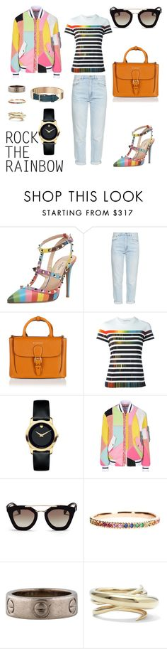 """""What he hates about whisky hangovers, he thinks now, is the synthesis they achieve between the spiritual and the gastric, as if your soul needs to throw up or your stomach has realised life is meaningless."""" by choi-eun-ri ❤ liked on Polyvore featuring Valentino, MiH, Burberry, Mary Katrantzou, Movado, Moschino, Prada, Sydney Evan, Cartier and Charlotte Chesnais"