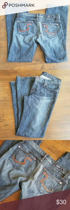 Rock & Republic jeans Sz 29, 33 inch inseam,  bought from another posher but fit too big. Rock & Republic Jeans Boot Cut