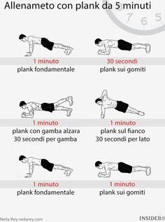 Il planking è uno degli esercizi più efficaci per allenarti e stare in salute…