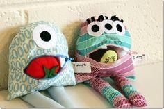 Se você vender este monstrinho de tecido vai ganhar um bom dinheiro (Foto: hillmade.blogspot.com.br)