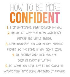 #BeConfident #Confidence #tips www.Your24hCoach.com