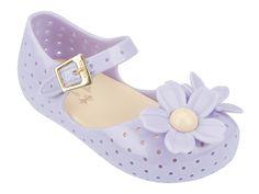 Mini Melissa Lilac Isabela Flowers Sandals | Rowdy Roddy Vintage