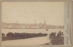 Gezicht op de stad vanuit het Noorden 1887
