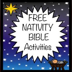 Do you need a Bible activity for your class before the holiday break? Here are three activities for your students to complete during morning work or as reinforcement worksheets for the Nativity story. Included in this product: 1. Trace the stars and scripture, Matthew 2:1 2.