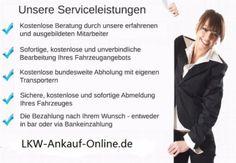 Sie möchten Ihren LKW verkaufen? Dann sind Sie bei uns genau richtig! http://lkw-ankauf-online.de/