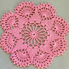 How to Easily Crochet Doily with Free Pattern If you think the doilies are too complicated, you are wrong, at the first sight this great and stunning may seem really difficult to some, but they are very These amazing Crochet Leaves Granny Squares features Free Crochet Doily Patterns, Crochet Motifs, Crochet Flower Patterns, Crochet Squares, Thread Crochet, Crochet Designs, Crochet Crafts, Easy Crochet, Crochet Stitches