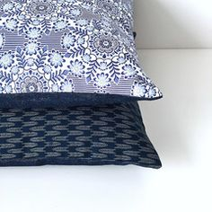 Scandi floral cushion from the Heart Home mag shop