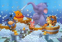 Winnie the Pooh movie posters at movie poster warehouse . Tigger And Pooh, Cute Winnie The Pooh, Winnie The Pooh Quotes, Winnie The Pooh Friends, Mickey Mouse And Friends, Pooh Bear, Eeyore, Baby Disney, Disney Love