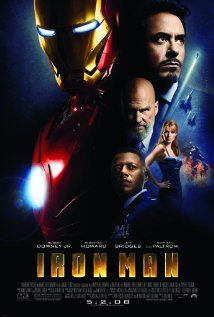 IRON MAN.  Director: Jon Favreau.  Year: 2008.  Cast: Robert Downey Jr., Gwyneth Paltrow and Terrence Howard