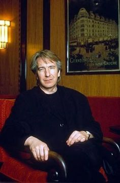 February 21, 1992 - Alan Rickman had a photo-shoot with Didier Olivre in Paris, France.