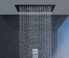 Modern rain shower heads are a must have in new bath construction