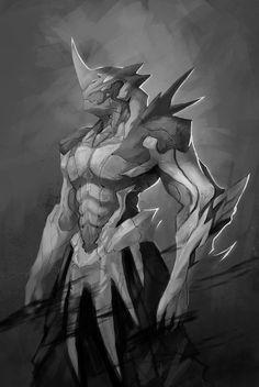 You are reincarnated into the World of Highschool DXD. Robot Concept Art, Creature Concept Art, Armor Concept, Creature Design, Fantasy Character Design, Character Design Inspiration, Character Art, Monster Design, Monster Art
