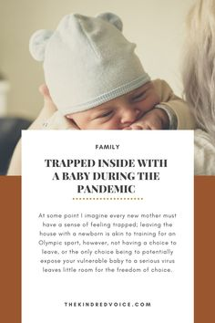 I am a new mother at the height of a global pandemic. Motherhood in conjunction with quarantine is proving to be all about my state of mind. Read more: thekindredvoice.com Feeling Trapped, Trying To Conceive, Real Women, New Moms, Vulnerability, Mental Health, Parenting, Motivation, Feelings