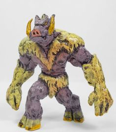 Monster In My Pocket 29 Squarefoot (2) 2nd Gen RPG D&D Toy Figure
