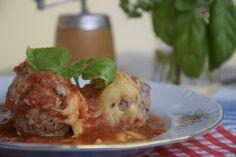 кюфтета с доматен сос на фурна бързи рецепти с кайма