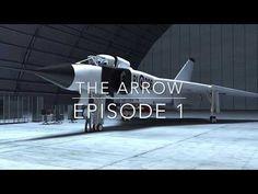 AVRO ARROW vs F 35 & F 18 - YouTube