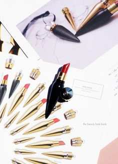 The Beauty Look Book - Louboutin Lipstick / Louboutin Charme / Louboutin Beaute