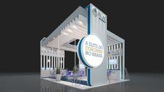 Exhibition Stall, Exhibition Booth Design, Exhibit Design, Kiosk Design, Stage Design, Trade Show, 3ds Max, Cool Designs, Behance