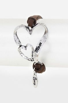 Engraved Mom Bracelet on Emma Stine Limited