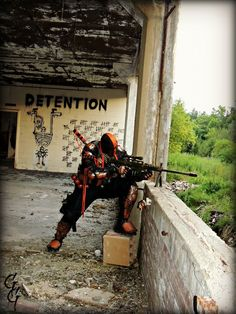 Deathstroke Cosplay done pretty well