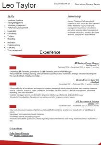Latest Resume Format    Resume Formats