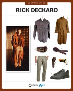 Gear up to be Rick Deckard the fictional plainclothes police officer with the San Francisco Police Department from the movie Blade Runner.