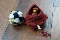 Mitbringsel aus Wollresten stricken – mit Verlosung!
