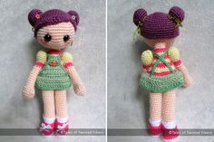 Cookie, the Amigurumi Girl FreePattern