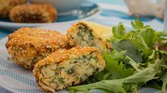 salmon chilli herb patties