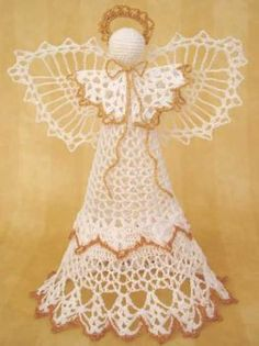 Hey, I found this really awesome Etsy listing at https://www.etsy.com/listing/122177464/angel-victoria-tree-topper-crochet