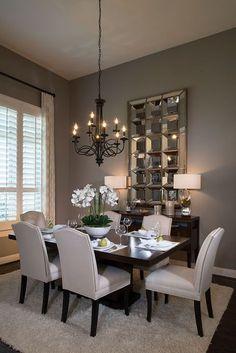 Highland Homes | Light Farms | Dining Room | Celina, TX | Plan 292 #luxurydiningroom