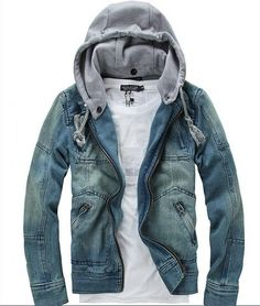 2013 autumn new han edition Blazer man's cowboy coat cultivate one's morality hoodies men's jacket denim.