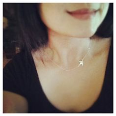 Sterling Silver Swallow Bird Necklace - All Sterling Silver - Simple, Everyday Jewelry
