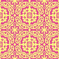 mellow yellow on pink custom fabric by reen_walker for sale on Spoonflower Pink Fabric, Fabric Wallpaper, Mellow Yellow, Designer Wallpaper, Custom Fabric, Spoonflower, Fabrics, Gift Wrapping, Colorful