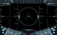 Halo Prototype HUD - Blue by Entereri.deviantart.com on @deviantART