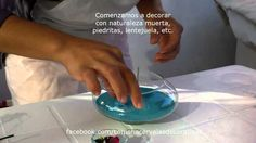 Como hacer velas de gel- Como hacer una vela decorativa