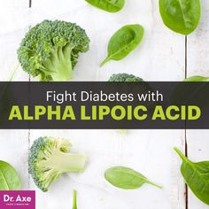 Alpha Lipoic Acid: Improve Insulin Sensitivity & Fight Diabetes! - Dr. Axe