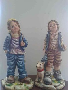 Catalogo de figuras Yesos y Figuras Garden Sculpture, Diy And Crafts, Dolls, Country, Outdoor Decor, Home Decor, Beautiful, Plastering, Bow Braid