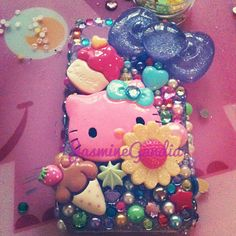 decoden hello kitty blue phone case