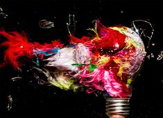 Exploding Lightbulbs: High-Speed Photos by Jon Smith